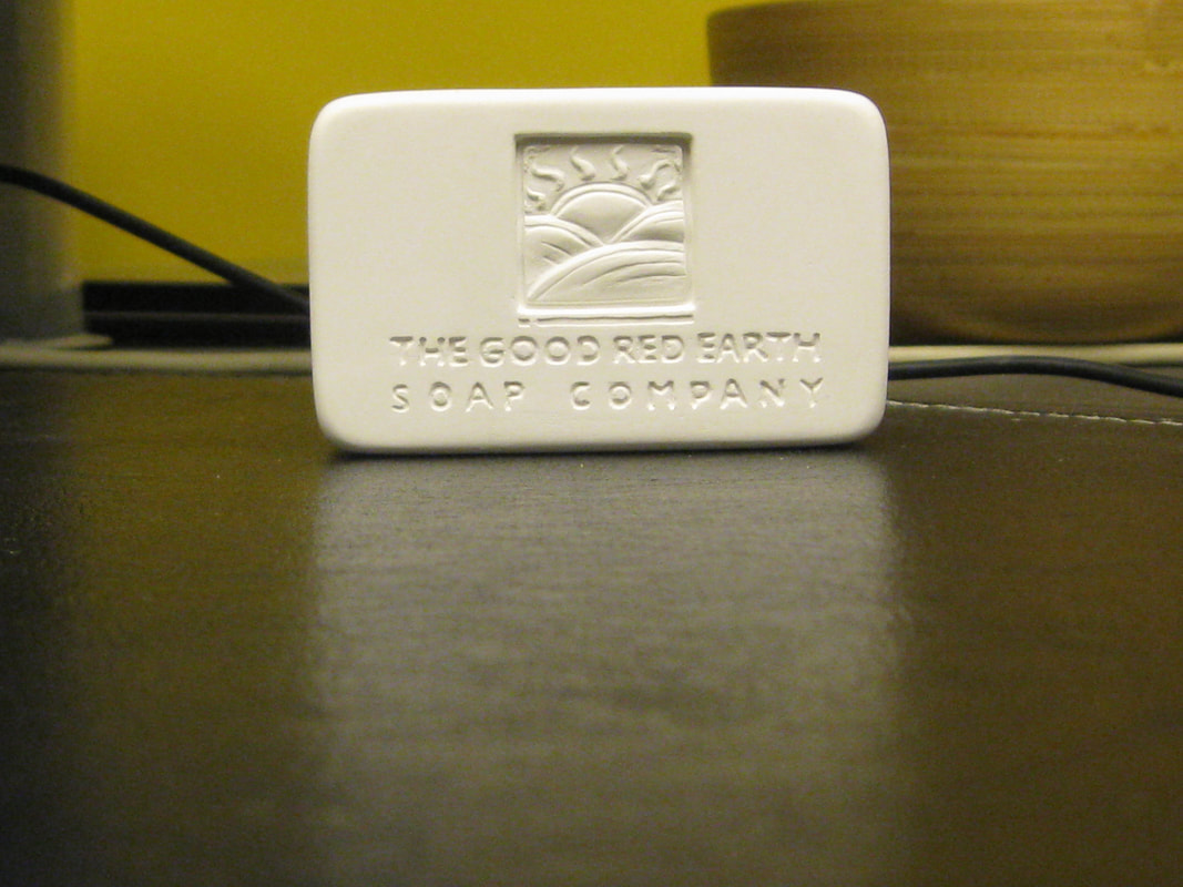 Picture of Beauty Soap Bar Custom Branded by The Good Red Earth Soap Company